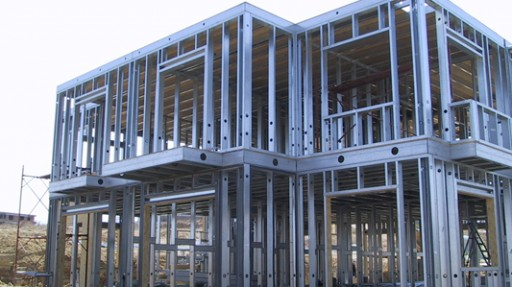 building steel frame houses in cyprus