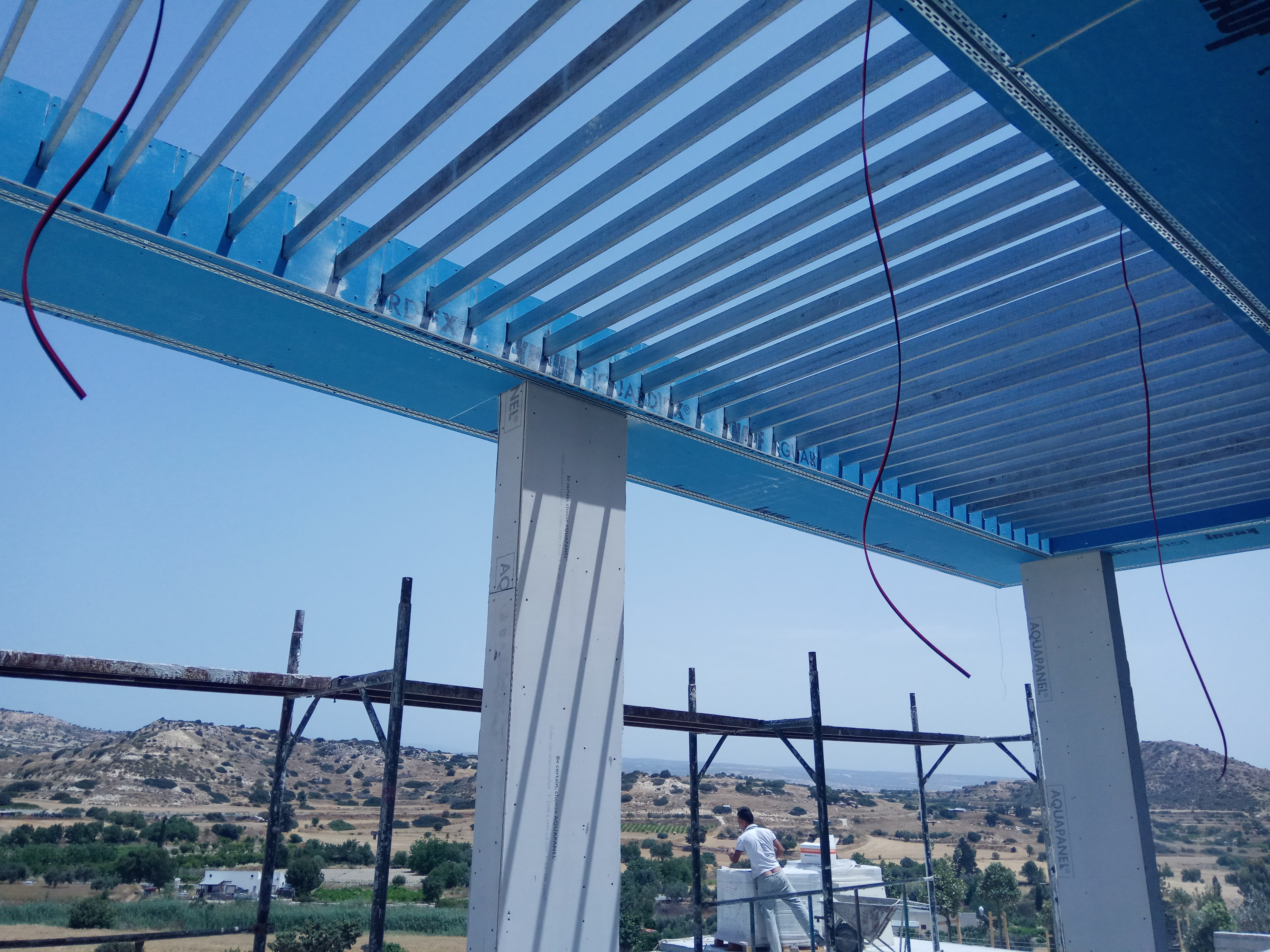 Pergola Project In Pissouri Home